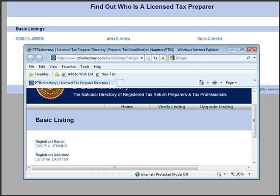 PTIN_Directory_Example