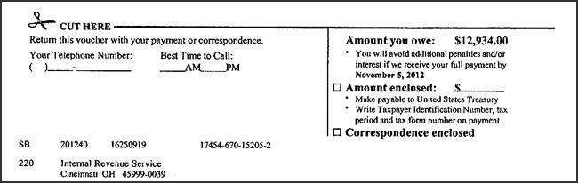 Adjusted Tax Computation - Close up of Page 4