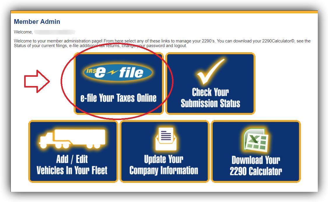 e-file – 2290Tax com Blog