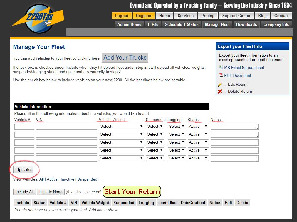 Step by Step 2290 e-File Instructions | 2290Tax com Blog